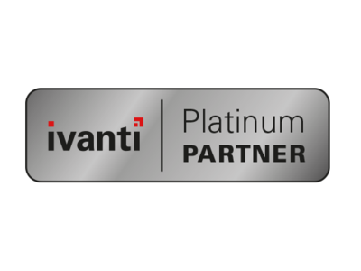 [Translate to English:] Ivanti Platinum Partner